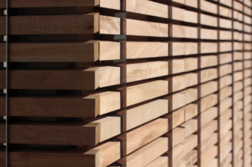 materiale edile sostenibile, copertura in ThermoWood